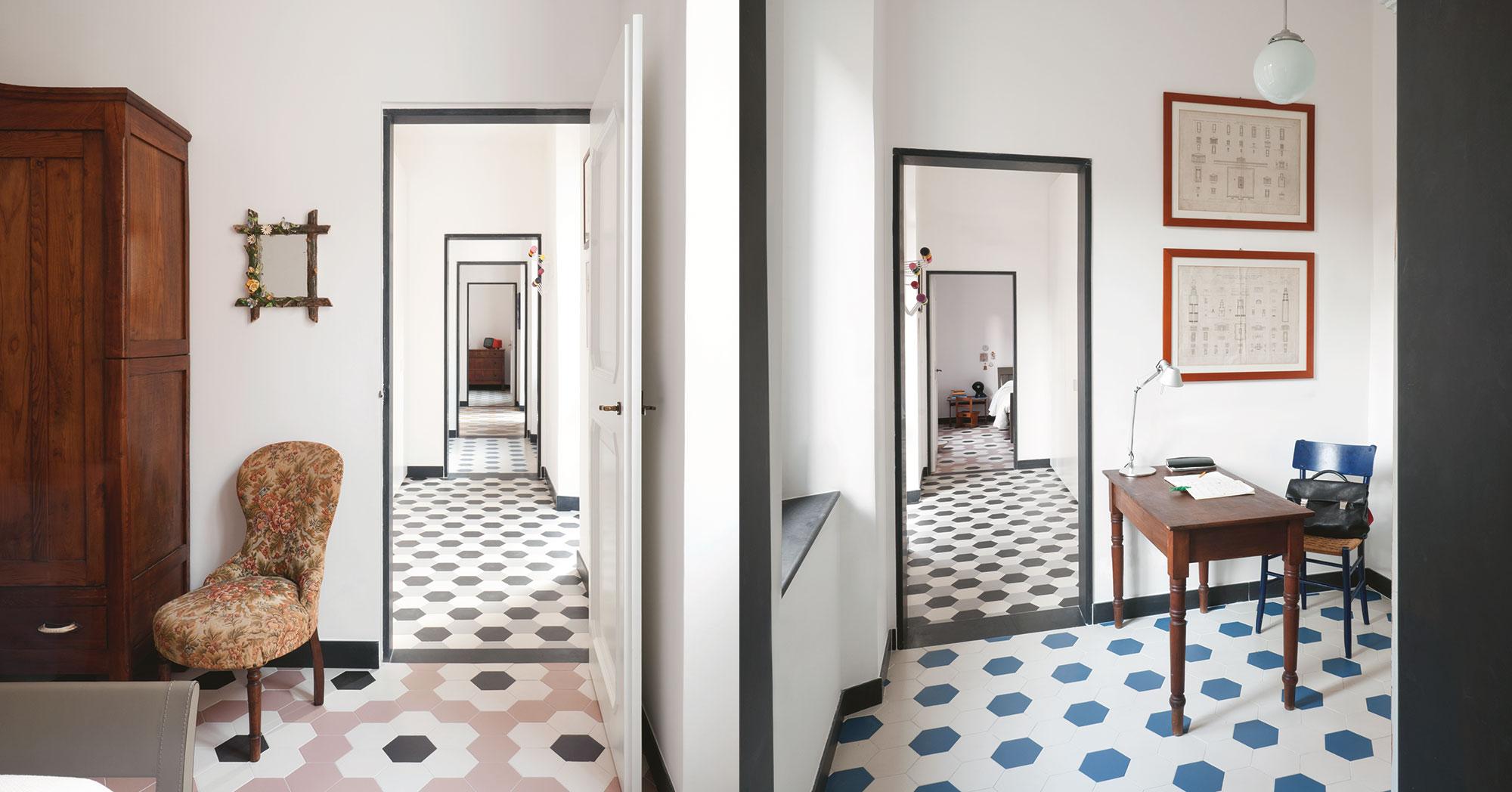 Etruria design ceramic tiles - Piastrelle esagonali cucina ...