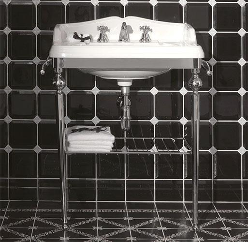 Lavabo A Consolle In Ceramica.Consolle Etruria Design